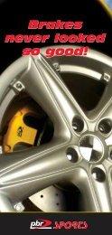 Brakes never looked so good! - PBR Australia