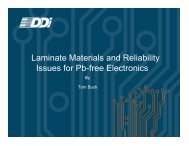 Laminate Materials and Reliability Issues for Pb-free ... - SMTA