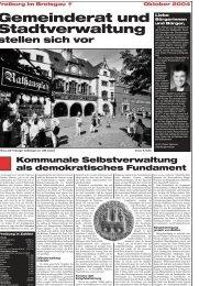 Gemeinderat und Stadtverwaltung - Stadt Freiburg im Breisgau