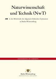 Naturwissenschaft und Technik (NwT) - Zum Kultusportal