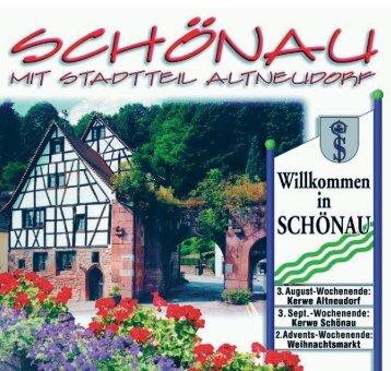 Odenwald - Stadt Schönau