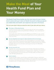 Make the Most of Your Health Fund Plan and Your Money