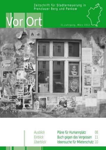 Ausblick Pläne für Humannplatz 08 Einblick Buch gegen das ...