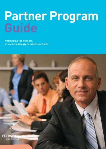 Why Partner With PBBI? - Pitney Bowes Software