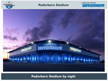 bequemer bauen Paderborn Stadium