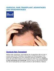 SURGICAL HAIR TRANSPLANT
