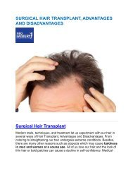 SURGICAL HAIR TRANSPLANT