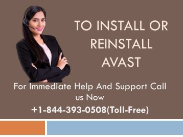 Install Or Reinstall Avast +1-844-393-0508