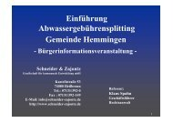 Folien im PDF-Format - Gemeinde Hemmingen