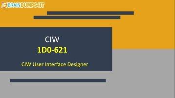 CIW 1D0-621 Braindumps