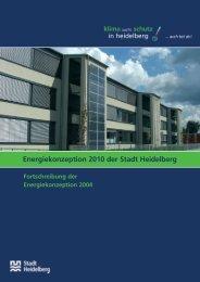 Energiekonzeption 2010 der Stadt Heidelberg (PDF-Datei, 1