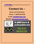 Top-notch audio video production facilities offered at competitive rates - Page 3