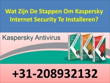 Wat Zijn De Stappen Om Kaspersky Internet Security Te Installeren