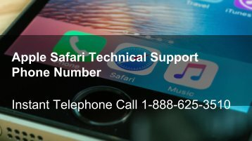 Apple Safari Technical Support Phone Number