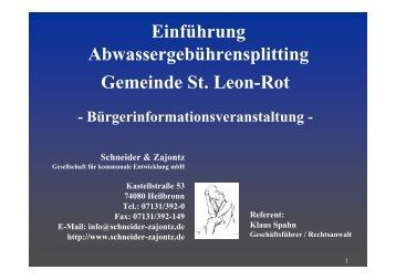 Faktor - Sankt Leon-Rot