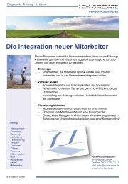 Integration neuer Mitarbeiter - HR Horizonte