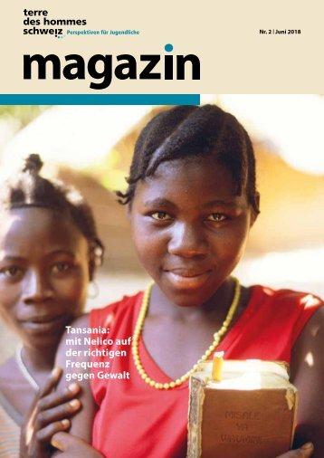 terre des hommes schweiz Magazin 2 2018