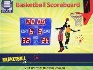 Buy best Basketball Scoreboard from Blue Vane