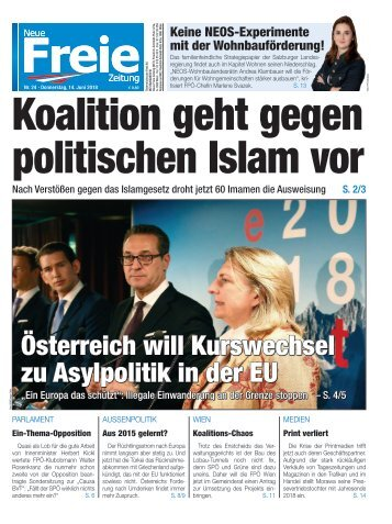 Koalition geht gegen politischen Islam vor