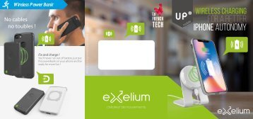 Exelium Flyer - Up mobile 2018 - EN