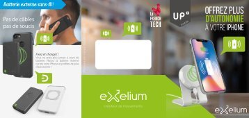 Exelium Flyer - Up mobile 2018 - FR