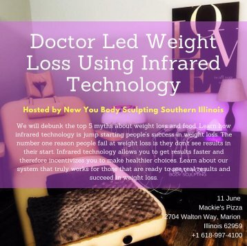 Doctor Led Weight Loss Using Infrared Technology- New You Body Sculpting