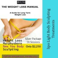 lipo light body sculpting treatments-New You Body Sculpting