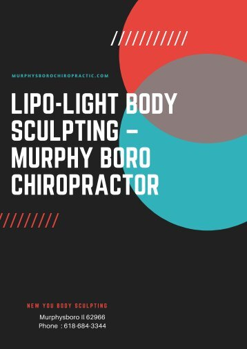 Lipo-Light Body Sculpting –Murphy Boro Chiropractor