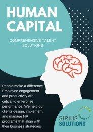 Inclusive Solutions - Human Capital Consulting