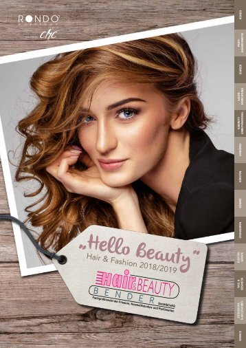 "Bender ""Hello Beauty"" - Hair & Fashion 2018/2019"