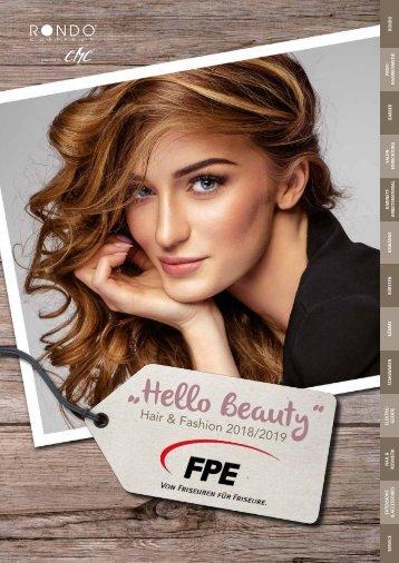 """FPE """"Hello Beauty"""" - Hair & Fashion 2018/2019"""