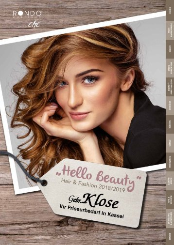 "Klose ""Hello Beauty"" - Hair & Fashion 2018/2019"