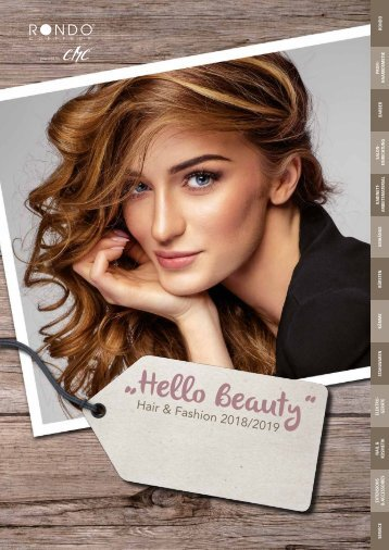 "Rondo ""Hello Beauty"" - Hair & Fashion 2018/2019"