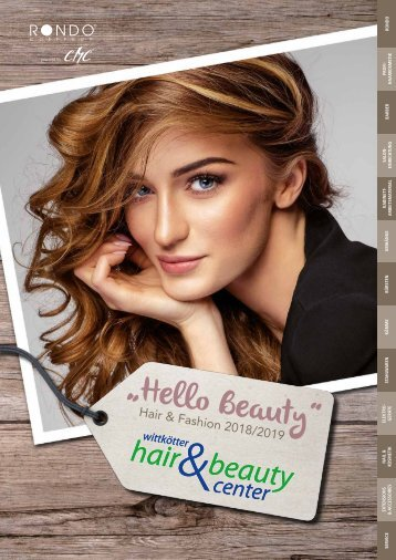 "Wittkötter ""Hello Beauty"" - Hair & Fashion 2018/2019"