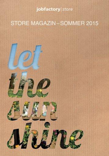 Store Magazin Sommer 2015