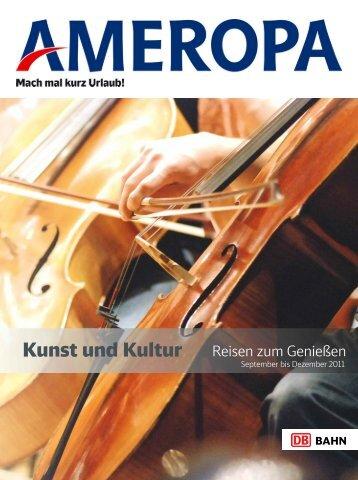 AMEROPA Kunstundkulturreisenzumgeniessen 2011