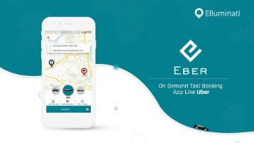 On demand Taxi Booking App solution with white labeling.