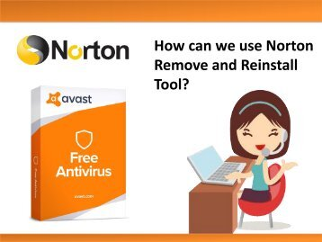 How can we use Norton Remove and Reinstall Tool