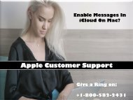 Enable Messages In iCloud On Mac