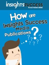 How are Insights Success media publications?