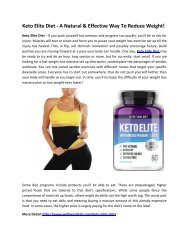 Keto Elite Diet - Increase Your Metabolism Rate To Burn Fat!
