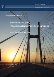 Modulhandbuch (PDF) - Hochschule Biberach