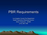 PBR Requirements