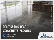 One of the Leading Concrete Contractors in Kansas City