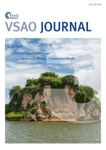 VSAO JOURNAL Nr. 3 - Juni 2018