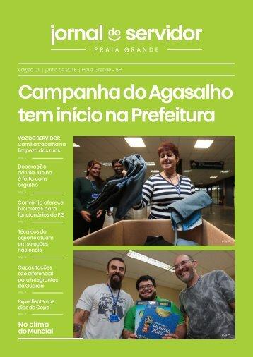 Jornal do Servidor - Praia Grande | Ed. 1 | Junho 2018