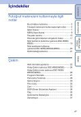 Sony DSC-W350D - DSC-W350D Consignes d'utilisation Turc - Page 4