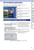 Sony DSC-W350D - DSC-W350D Consignes d'utilisation Néerlandais - Page 2