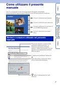 Sony DSC-W350D - DSC-W350D Consignes d'utilisation Italien - Page 2