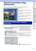 Sony DSC-W350D - DSC-W350D Guide pratique Polonais - Page 2